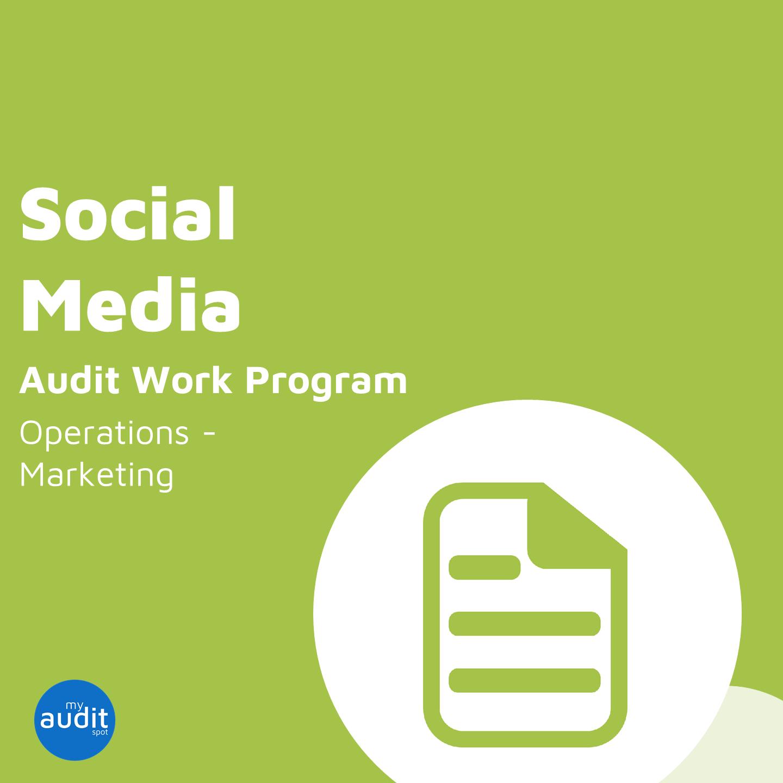 OPS1 - Audit Work Program - Social Media - IN v2